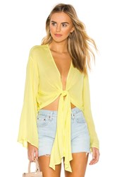 Yfb Clothing Free Fall Top Yellow