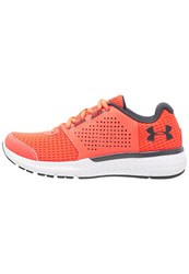 Under Armour Micro G Fuel Rn Neutral Running Shoes London Orange White Rhino Gray