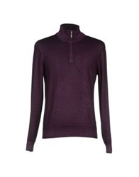 Gran Sasso Turtlenecks Deep Purple
