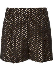 Michael Kors Perforated Shorts Black