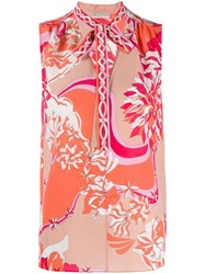 Emilio Pucci Abstract Print Tank Top 60