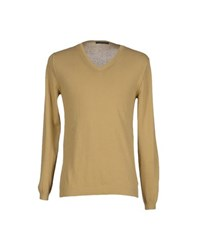 Gazzarrini Knitwear Jumpers Men Sand