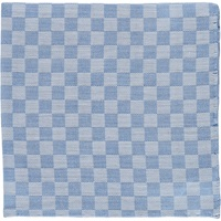 Checked Handkerchief Blue