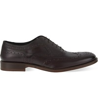 Kg By Kurt Geiger Luther Leather Brogues Wine
