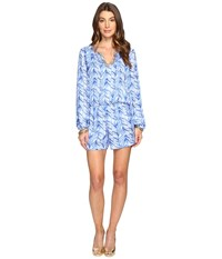 Lilly Pulitzer Colby Romper Lapis Blue Costa Verde Women's Jumpsuit And Rompers One Piece
