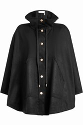 See By Chloe Cape Coat With Wool Black