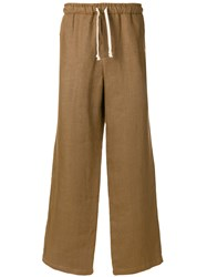 Societe Anonyme Hackney Loose Trousers Brown