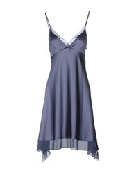 Gossip Knee Length Dresses Slate Blue