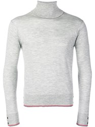 Thom Browne Classic Cashmere Turtleneck Pullover 60