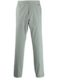 Stephan Schneider Tailored Straight Trousers Green