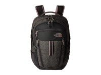 The North Face Women's Surge Asphalt Grey Heather Quail Grey Backpack Bags Black