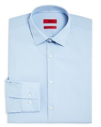 Hugo Solid Slim Fit Dress Shirt Light Blue