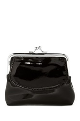 Mundi Kiss Lock Coin Pouch Black