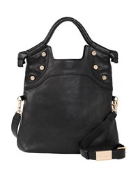 Foley Corinna Lady Leather Tote Bag Black