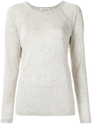 Giuliana Romanno Panelled Top Sand