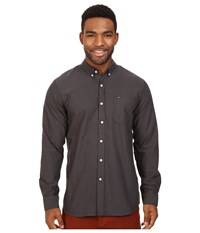 Rip Curl Ourtime L S Shirt Black 1 Men's Long Sleeve Button Up