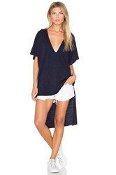 Nation Ltd. Santa Cruz Poncho Navy