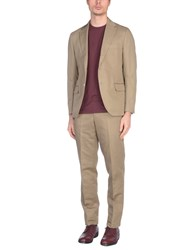 Massimo Piombo Mp Suits Beige
