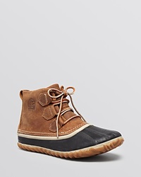 Sorel Lace Up Waterproof Duck Booties Out N About Elk