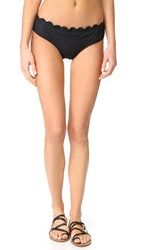 Kate Spade Marina Piccola Hipster Bikini Bottoms Black
