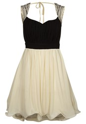 Little Mistress Sweetheart Cocktail Dress Party Dress Black White