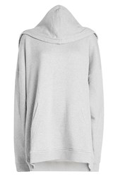 Y Project Oversized Cotton Hoody Grey