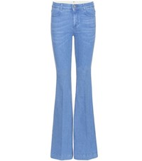 Stella Mccartney The 70S Flared Jeans Blue