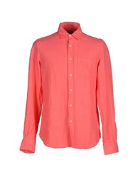Coast Weber And Ahaus Shirts Shirts Men Coral