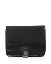 Longchamp Nyltec Hanging Toiletry Bag Black