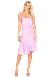 Milly Kendal Dress Pink