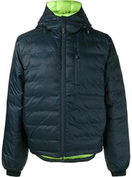 Canada Goose 'Lodge' Down Jacket Blue