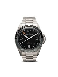 Bell And Ross Br V2 93 Gmt 41Mm Steel And Black