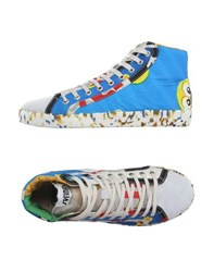 Springa Footwear High Tops And Trainers Men Bright Blue