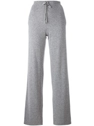 Chinti And Parker Straight Leg Track Pants Grey