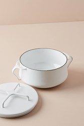 Dansk Kobenstyle Casserole Pot With Lid White