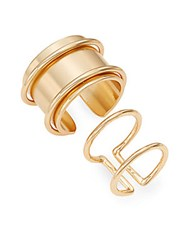 Jules Smith Designs Saturn Ring Goldtone