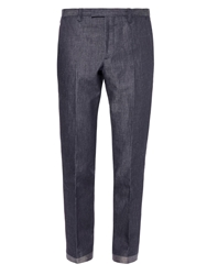 Gucci Flat Front Denim Trousers