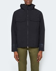 Stone Island Tank Shield Marina Short Blouson Black