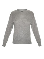 Isabel Marant Evans Cashmere And Silk Blend Knit Sweater