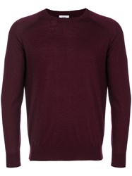 Closed Crew Neck Jumper Virgin Wool L Red