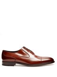 Fratelli Rossetti Splendor Leather Oxford Shoes Brown