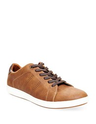Steve Madden Jojen Lace Up Sneakers Tan