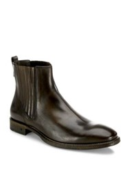 John Varvatos Fleetwood Paneled Chelsea Boots Antique