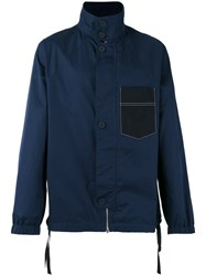Marni Patch Pocket Jacket Blue