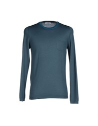 Gran Sasso Knitwear Jumpers Men Slate Blue