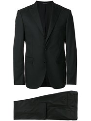 Tagliatore Two Piece Suit Black
