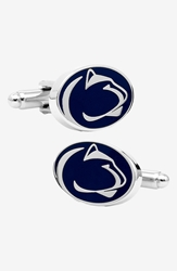 Ravi Ratan Cufflinks Inc. 'Penn State University Nittany Lions' Cuff Links Navy Silver