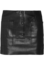 Acne Studios Koby Leather Mini Skirt