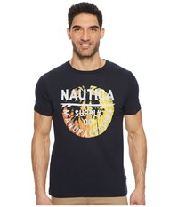 Nautica Short Sleeve Supply Crew True Navy T Shirt