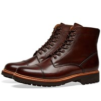 Grenson Joseph Toe Cap Boot Brown